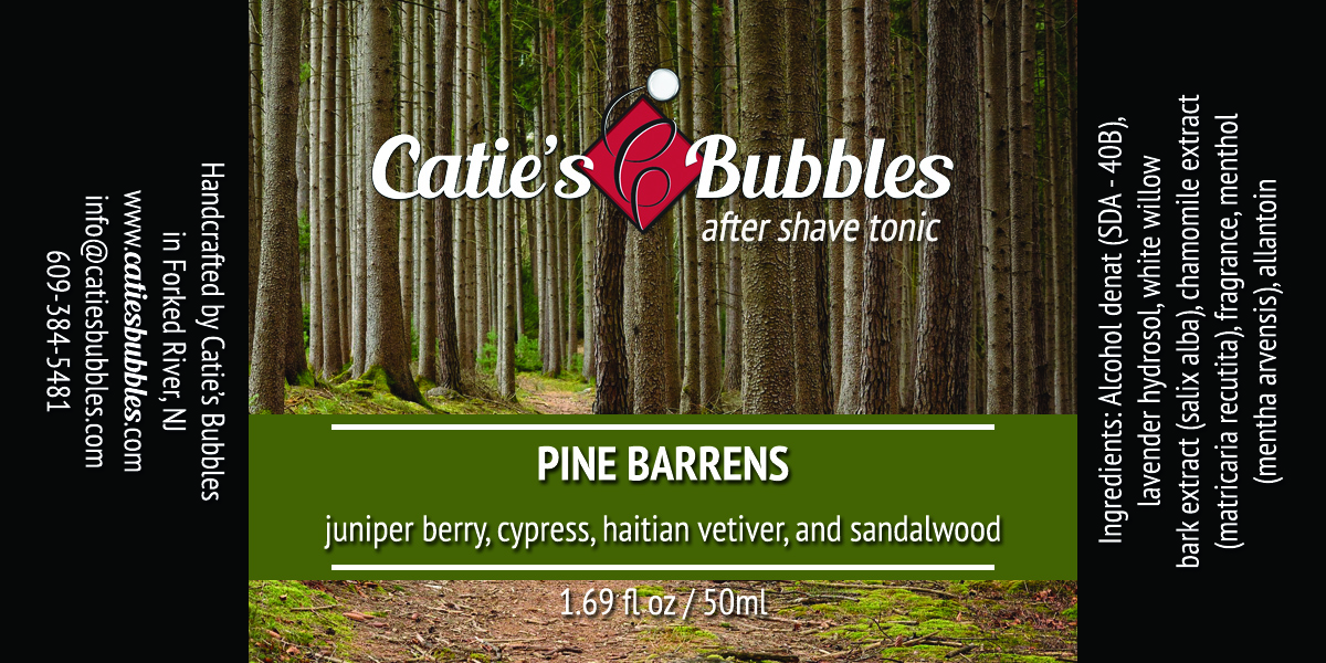Pine Barrens After Shave Tonic